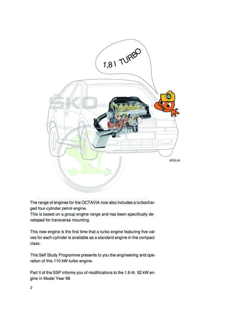 Ssp23 Octavia 1 8 Agu 110kw 5v Turbo Petrol Engine Pdf 1 76 Mb Manualy Servisni Anglicky En