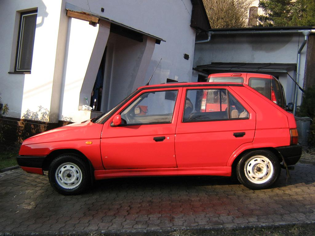 Detail vozidla - Škoda Favorit